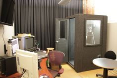 MDL 4848 S Arc Productions Ltd. - MDL 4848 S with optional Wall Window  #VO #VoiceOver #Clean #Modern #Studio