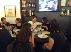 Cena al Ristorante Il Belli. #30IFIStour