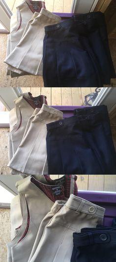 Uniforms 28017: 8 Pc George Girls Pleated Scooter Skort Skirt School Uniform Sz 14 Girls Nwot -> BUY IT NOW ONLY: $49.99 on eBay!