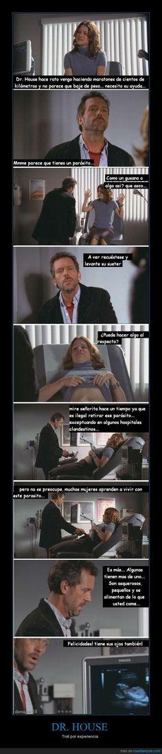 DR. HOUSE - Troll por experiencia