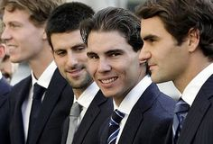 Rafa smile eclipsed other ! - roger-federer Photo
