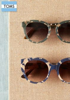 Look chic and stylish in TOMS eyewear for women.