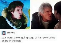 Haven't seen any of them (I know, blasphemy) but I already like Han Solo the best.