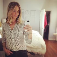 My new long, blunt bob (and the inspiration behind it) on Cupcakes and Cashmere. #Padgram