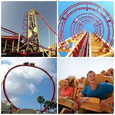 Rip Ride Rockit Universal Orlando #RipRideRockit #Universal #RollerCoaster #ThemeParks #Orlando #Florida