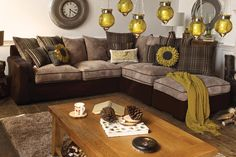 Lambert Corner Sofa with Footstool from Harvey Norman Ireland