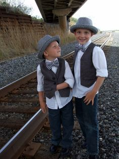 I'd love this for the boys!! Minus the hat.