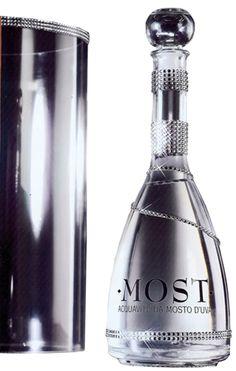 MOST Aquavita in Swarovski crystallized bottle
