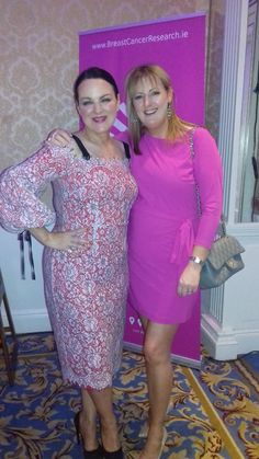 Michelle Keane CEO - mibeau Interiors & Triona Mc Carthy supporting Breast Cancer Research @ the Shelbourne Hotel Shelbourne Hotel, Mc Carthy, Prestigious Textiles, Designers Guild, Christian Lacroix, Breast Cancer, Interiors, Formal Dresses, Fashion