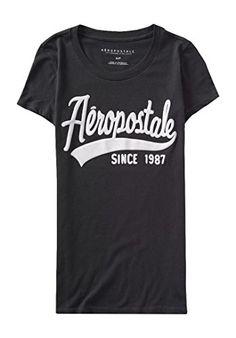 Aeropostale Women's Since 1987 Graphic T Shirt S Storm Aeropostale http://www.amazon.com/dp/B0108LACR6/ref=cm_sw_r_pi_dp_UeCSvb02CV2Z4