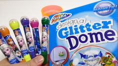 Make Your Own Snow Globe Glitter Dome - Creative Toy Box Set