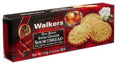@Walkers Shortbread in flavors like Stem Ginger, Highland, and Lemon are #AshleyKoffApproved