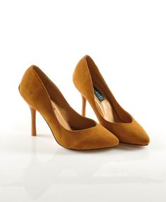 f5c04c170e190f  58.60 OL Yellow High Heeled Shoes with Ponited Toes Designer Dress Shoes