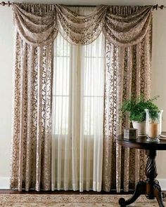 Charmant Romantic Color And Design Curtain For Bedrooms