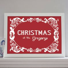 Personalised Christmas Print – Little Pieces