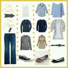 So many choices for this pair of Jean converse, cheetah flats, flats :)