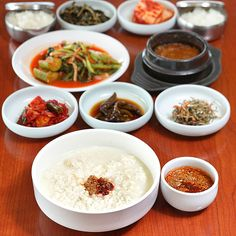 Sundubu Jeongsik (bean curd)