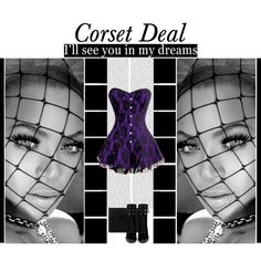 """I'll see you in my dreams""  Avery Lace Overlay Corset Dress http://www.corsetdeal.com/Avery-Lace-Overlay-Corset-Dress_p_2965.html  Your Price:$98.07 Retail Price:$128.07  40% Discount code : XMAS40"
