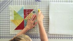 Wishes Quilt Along Block One: Flying Kite - See how this block comes together with step-by-step instruction