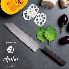 Chubo Knives Giveaway! Enter now: http://theartofplating.com/journal/hand-forged-sg2-powdered-steel-knife-giveaway/