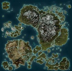 GTA V map compared to just cause 2 Fantasy World Map, Fantasy City, City Landscape, Fantasy Landscape, Medieval, Skyrim, Dungeons And Dragons, Just Cause 2, Map Games