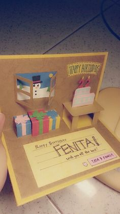 Birthday card for my sister's bestfriend, Fenita! Happy Birthday Fenita! 11/12/2012