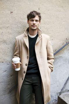 Matthew Gray Gubler. Men's wear