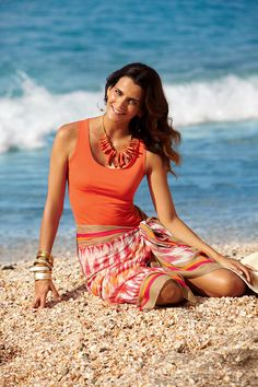 have the necklace. love it.Prints bring a unique energy to dressing #chicos