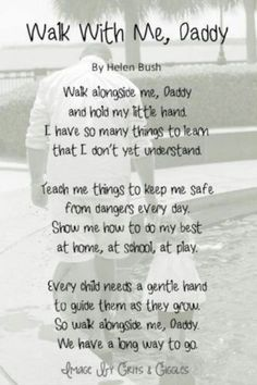 "Love your Daddy or your Little girl? Check out these cutest and lovely father and daughter quotes. Top 55 Father Daughter Quotes With Images ""In the darkest days, when I feel inadequate, unloved and unworthy, I Fathers Day Poems, Father Daughter Quotes, To My Daughter, Dad Quotes From Son, Poem On Father, Being A Dad Quotes, Baby Daddy Quotes, Best Dad Quotes, Daddy Poems"