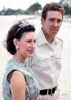 Princess Margaret, Countess of Snowdon, and Antony Armstrong-Jones, 1st Earl of Snowdon.