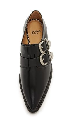 Toga Pulla | Buckled Oxfords