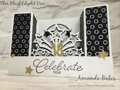 The Craft Spa - Stampin' Up! UK independent demonstrator : A6 U Fold Card Tutorial for Fancy Fold Friday