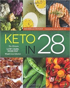 Keto in 28: The Ultimate Low-Carb, High-Fat Weight-Loss Solution: Everything you need to adopt and enjoy a ketogenic diet. Tired of struggling with weight loss? Author Michelle Hogan knows how you feel. Following her firsthand success with the keto diet, she shares her knowledge in Keto in 28.