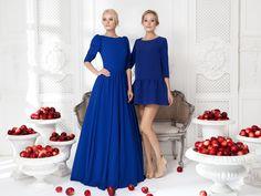 Платье «Леди Ди» синее — 24 990 рублей, Платье «Даниэла» синее — 14 990 рублей