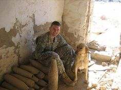 Logan and Diego - Logan's search for his partner from Iraq.  Go to: http://www.dogheirs.com/larne/posts/1419-soldier-desperate-to-find-and-adopt-his-military-dog   to read the whole story.   God bless Logan and Diego