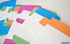 DIY sewn journaling cards by Linda Tieu Diy Journaling Cards, Journal Cards, Scrapbooking Layouts, Scrapbook Cards, Book Crafts, Paper Crafts, Paint Chip Cards, Project Life Scrapbook, Sewing Cards