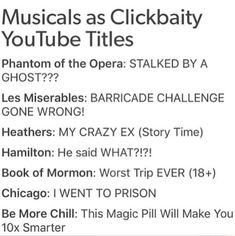 Musical Theatre Broadway, Music Theater, Broadway Shows, Musicals Broadway, Theatre Jokes, Theatre Nerds, Theatre Problems, Be More Chill Musical, Heathers The Musical