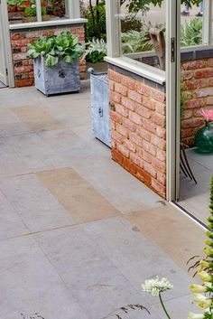 Landform Used Our Fine Brushed Grey Yorkstone In Their Hartley Botanic  Trade Stand At Chelsea Flower