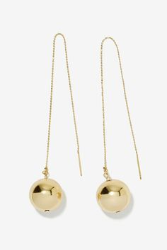 Have a Ball Thread Earrings | Shop What's New at Nasty Gal