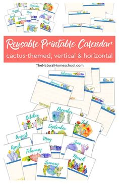 12-Month Homeschool Calendars [vertical & horizontal] Do you need a beautiful homeschool vertical and horizontal calendar? Take a look at these 2 great homeschool 12-month calendars. #homeschoolcalendarideas #homeschool #homeschoolcalendarprintable #homeschoolpritnableplanner Classical Education, Gifted Education, Months In A Year, 12 Months, 12 Month Calendar, Fall Cleaning, How To Start Homeschooling, School Schedule, New School Year