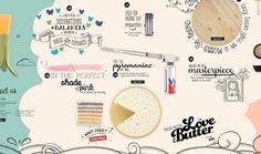 The Production Kitchen by Kilo Studio, via Behance Interactive Web Design, Ux Design, Graphic Design, Navigation Bar, Pink Day, Application Design, Website Design Inspiration, Food Illustrations, Typography