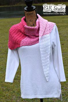 Love Me More Scarf by ELK Studio - ELK Studio - Handcrafted Crochet Designs