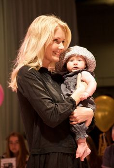 Noa Noa Miniature spring 2014 one of the youngest catwalk participants shows off the baby collection