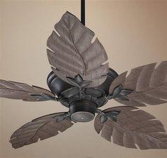 @lampsplus Oversized leaf tropical ceiling fan