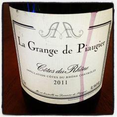 La Grange de Piaugier — Côtes du Rhône — 2011 #birite #wineblitz