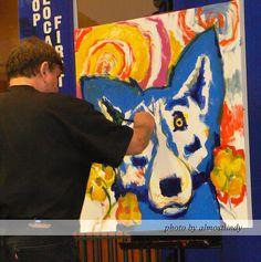Blue Dog Artist George Rodrigue http://flickrhivemind.net/Tags/georgerodrigue/Interesting