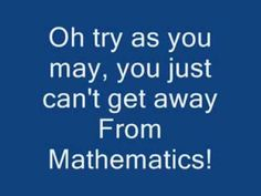 YouTube That's mathematics song