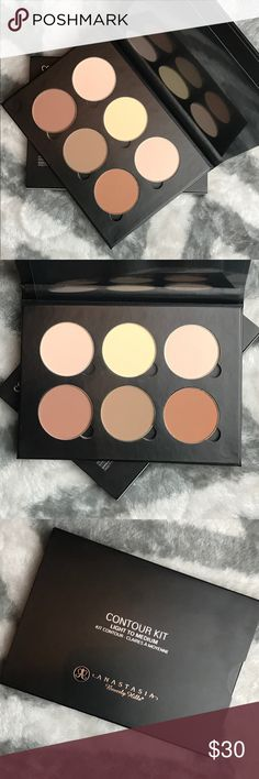ANASTASIA BEVERLY HILLS CONTOUR KIT LIGHT/MED Anastasia Beverly Hills Powder Contour Kit in Light/Medium 👄100% Authentic, new and unused👄 🚫No trades, you will be ignored🚫 ❌No lowball offers, you will be declined and/or blocked❌ ‼️Bundle with other items for 10% off‼️                         👎🏼I don't do holds or break up bundles👎🏼 Anastasia Beverly Hills Makeup Face Powder