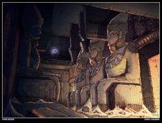 Egypt - Temple of Khamoon Kings Chamber