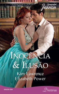 INOCÊNCIA CATIVA – KIM LAWRENCE Cesare sabota Ana profissionalmente por vingança, afinal, ela destruiu o casamento de seu melhor amigo. Mas quando eles se encontram, o sangue de Cesare ferve… e não é de raiva!  PARAÍSO DAS ILUSÕES – ELIZABETH POWER Kayla Young quer ficar sozinha para superar uma dor de cotovelo. Ela não sabia que tinha se refugiado na ilha de Leônidas Vassalio, que também não procurava companhia. Agora os dois terão que conviver em um cenário encantador… e inspirador!
